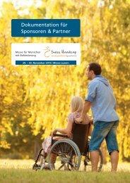 Dokumentation für Sponsoren & Partner - Swiss Handicap