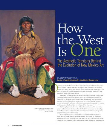 The Aesthetic Tensions Behind the Evolution of New Mexico Art
