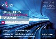 HEIDELBERG LEAN CHAMPION PASSPORT