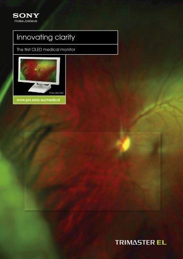 Innovating clarity - ELVIA Medical