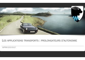 Les applications transports - prolongateurs d'autonomie.pptx - Asprom