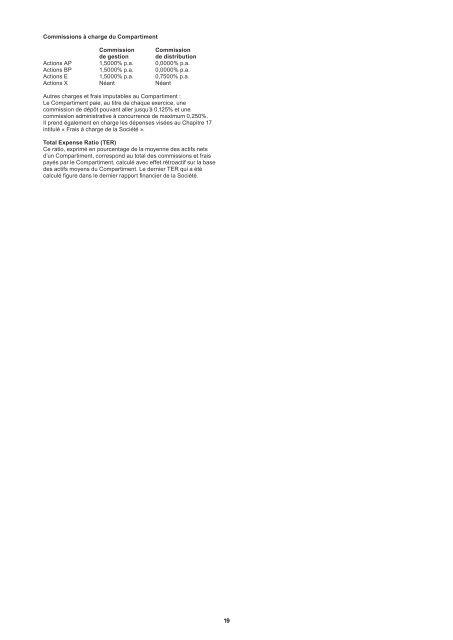 Prospectus Nordea 1, SICAV - Haussmann Patrimoine