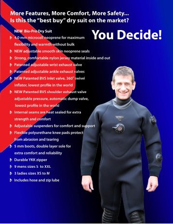 Dry Suits - Apollo Sports