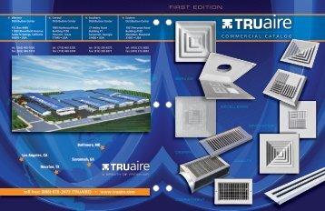 TRUaire Commercial Catalog