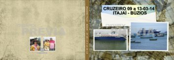 CRUZEIRO ITAJAÍ - BÚZIOS - 09-03-14 A 13-03-14