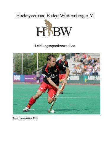 Leistungssportkonzeption Stand 2011 - Deutscher Hockey Bund e.V.