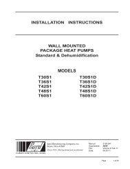 2100-547 - Bard Manufacturing Company
