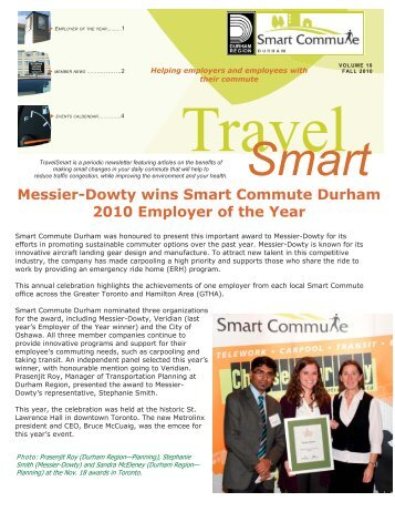 Volume 10, November 2010 (PDF) - Smart Commute