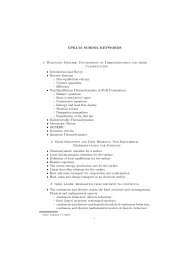 list of the key concepts and topics - 2010