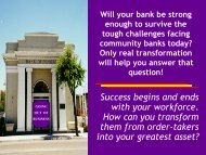 •Success begins and ends with your workforce. How can you ...