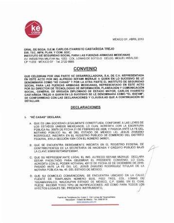 CONVENIO - Issfam