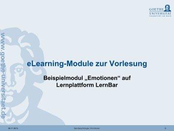 Emotionen - Institut für Sportwissenschaften
