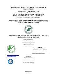 dla nadleśnictwa prudnik - Państwowe Gospodarstwo Leśne LASY ...