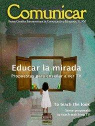 Comunicar 31 - Revista Comunicar
