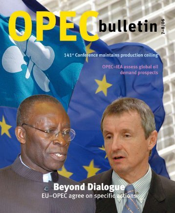 July-August 2006 edition of the OPEC Bulletin