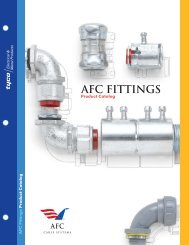 AFC FITTINGS - AFC Cable Systems, Inc.
