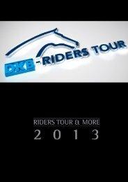 RIDERS TOUR Jahrbuch 2013!