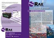 Protection through Detection - RAE BeNeLux Belgie, uw gasdetectie
