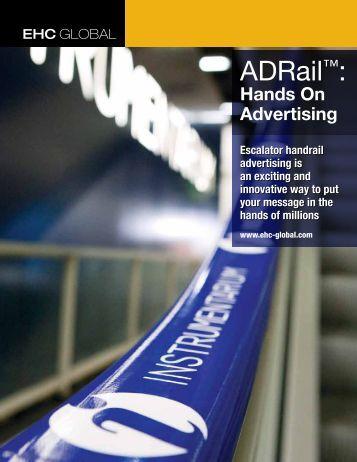Adrail Escalator Handrail Advertising - EHC Global