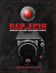 red epic® canon eos mount installation instructions - CacheFly