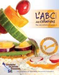 ABC des collations - Association des parents fransaskois