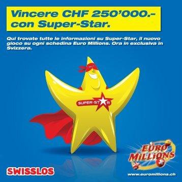Tutte le informazioni su Super-Star - Swisslos