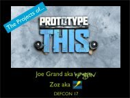 The Projects of Prototype This - Grand Idea Studio