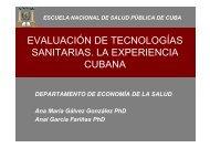 evaluación de tecnologías sanitarias. la experiencia ... - HTAi 2011