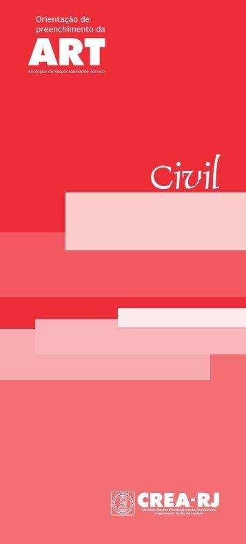 Manual Engenharia Civil - Crea-RJ