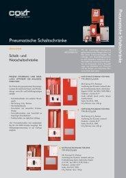 Pneumatische Schaltschränke Pneumatische Schaltschränke