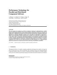 Performance Technology for Parallel and Distributed ... - People
