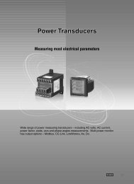 Power Transducers - M-System