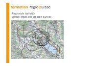 Regionale Identität am Beispiel der Region Sursee - Regiosuisse