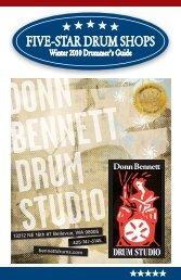 FIVE-STAR DRUM SHOPS - Donn Bennett Drum Studio