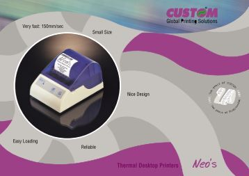 Thermal Desktop Printers