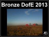 2013_ DofE_Bronze Expeds - Bohunt School