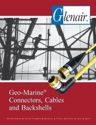 Geo-Marine® Connectors, Cables and Backshells - Glenair, Inc.
