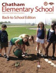 July 2012 - Chatham Elementary School