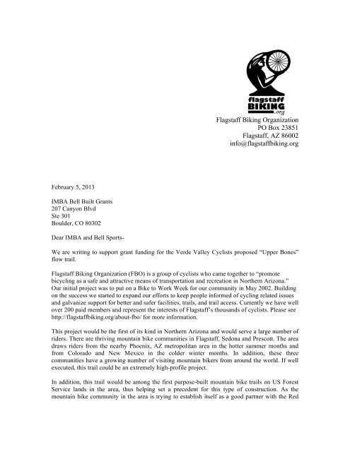 Letter Of Support For Funding from img.yumpu.com