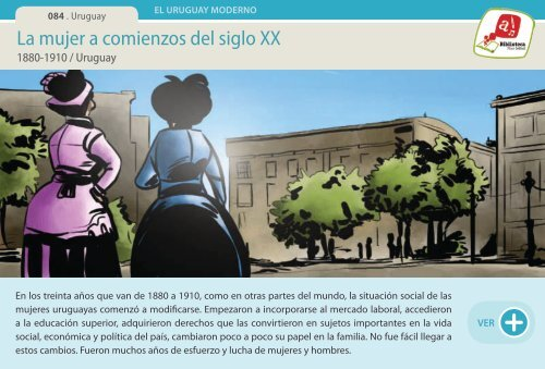 La mujer a comienzos del siglo XX - Manosanta