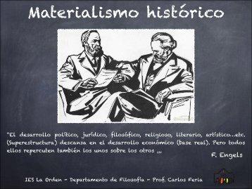 Marx presentación materialismo histórico