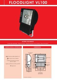 FLOODLIGHT VL100 - AB Controls & Technology