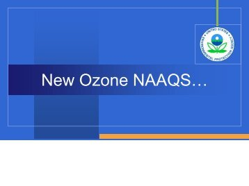 Ozone NAAQS and Outreach - Kentucky Transportation Cabinet