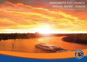 PARRAMATTA CITY COUNCIL ANNUAL REPORT 2009/10