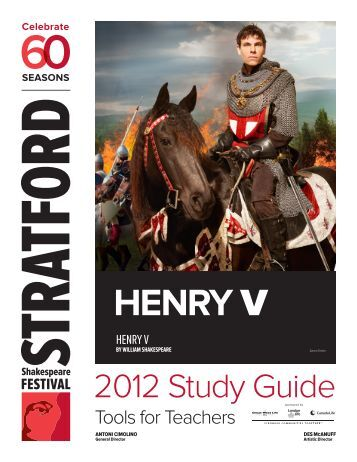 Table of Contents - Stratford Festival