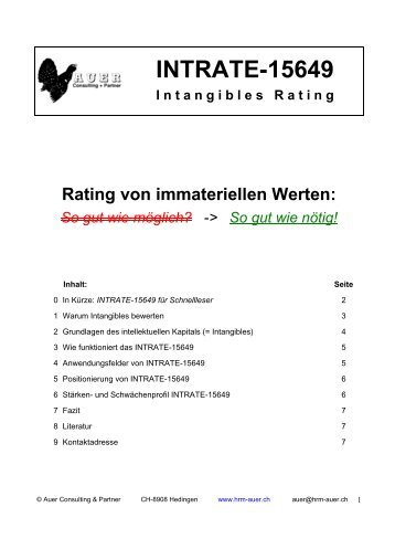 INTRATE-15649 - Auer Consulting & Partner