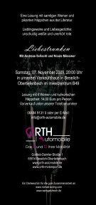 Liebestrunken - Orth Automobile - Seite 2