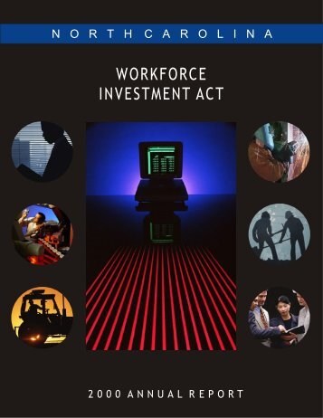 WORKFORCE INVESTMENT ACT - Department of Commerce
