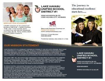 Why Choose LHUSD? - Lake Havasu Unified School District