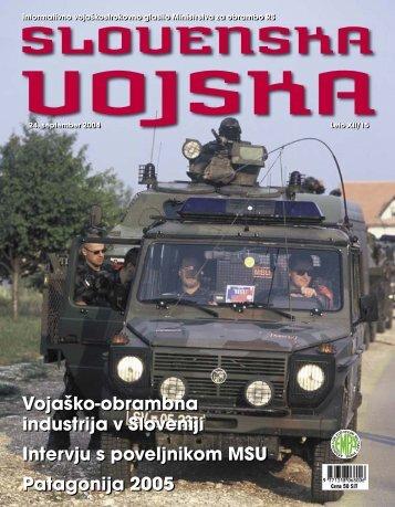 Letnik XII/15 - Ministrstvo za obrambo